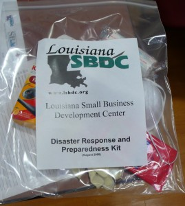 Louisiana SBDC Disaster Kit