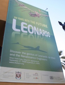 Don't miss the Leonardo da Vinci exhibit