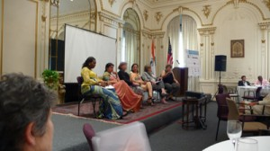 Luncheon Speakers at the Indian Consulate in New York