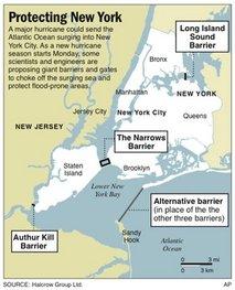 New York City Sea Barriers
