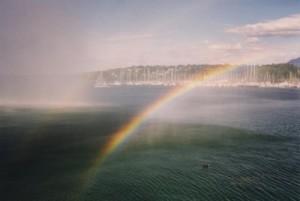 Rainbow Over Geneva, Not New York