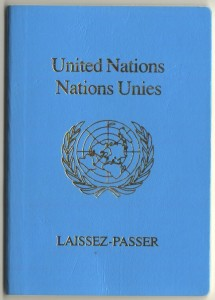My UN Passport