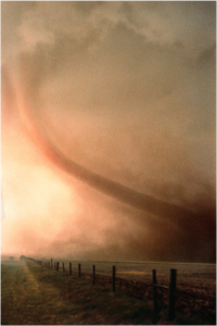 Tornadoes Strike Without Warning